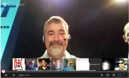 Google Hangout Video